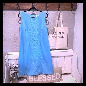 41 Hawthorne Blue Sleeveless Dress